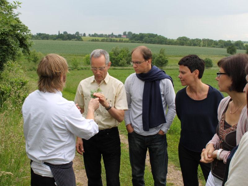 Führung Durch Den Kräutergarten
